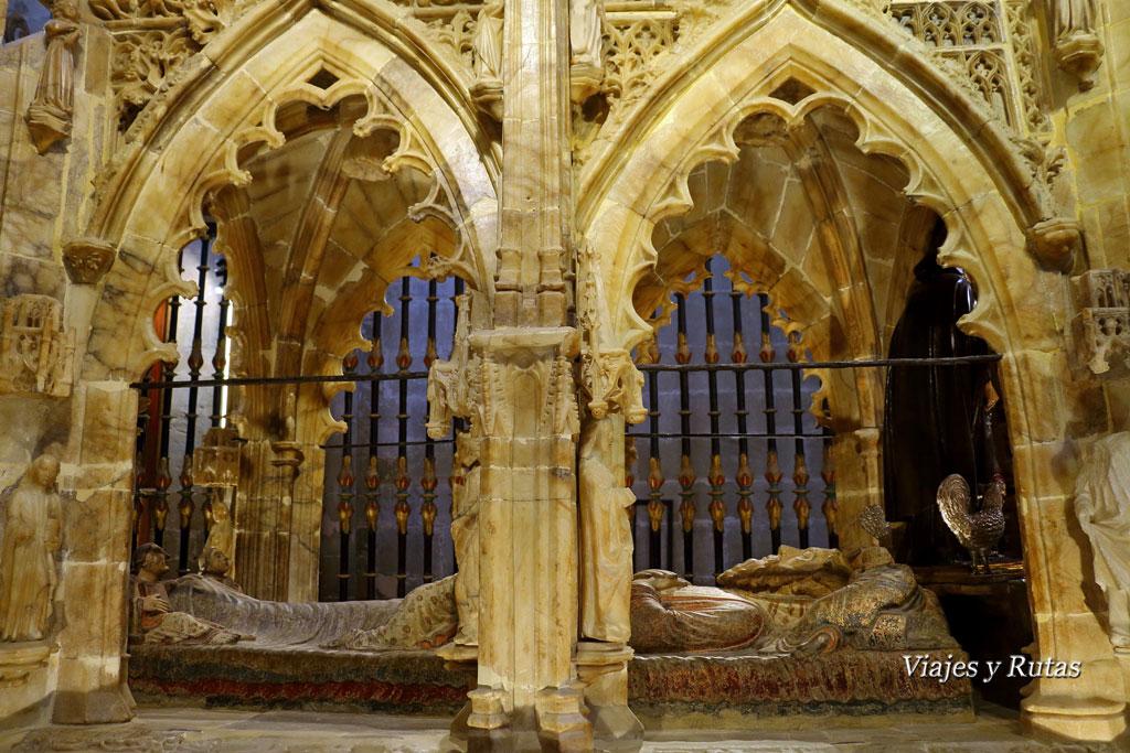 Sepulcro de Santo Domingo de la Catedral de Santo Domingo de la Calzada, la Rioja