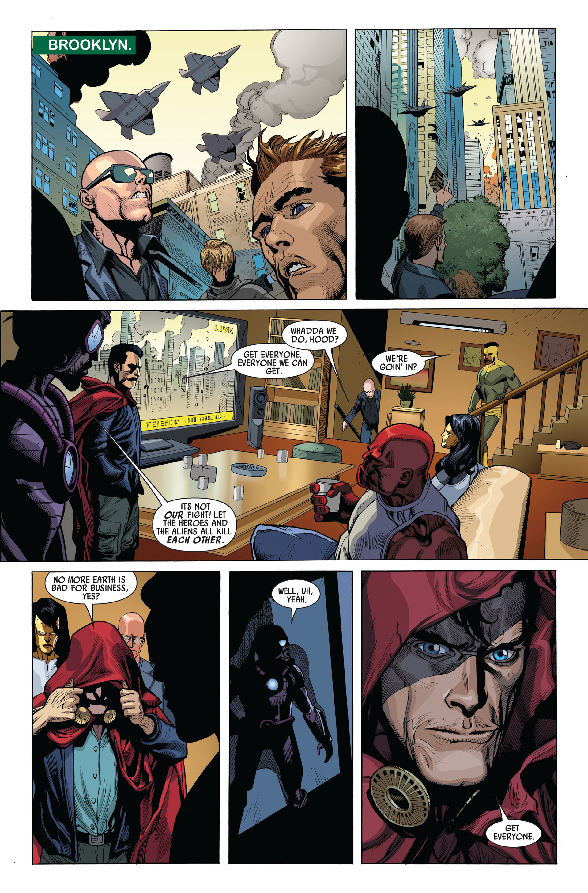 Read online Secret Invasion comic -  Issue #4 - 19