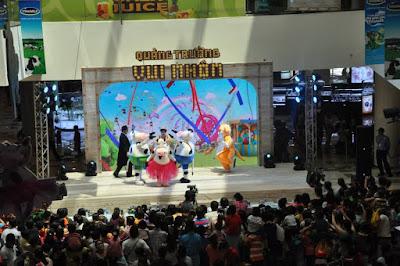 Khu vui chơi trẻ em với các điểm vui chơi ở Sài Gòn