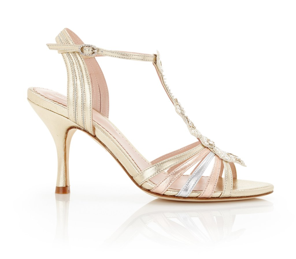 Madness To T-Bar Bridal Shoes Online
