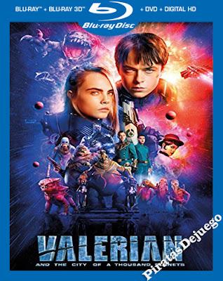 Valerian y la Ciudad de los Mil Planetas (2017) HD 1080p Latino