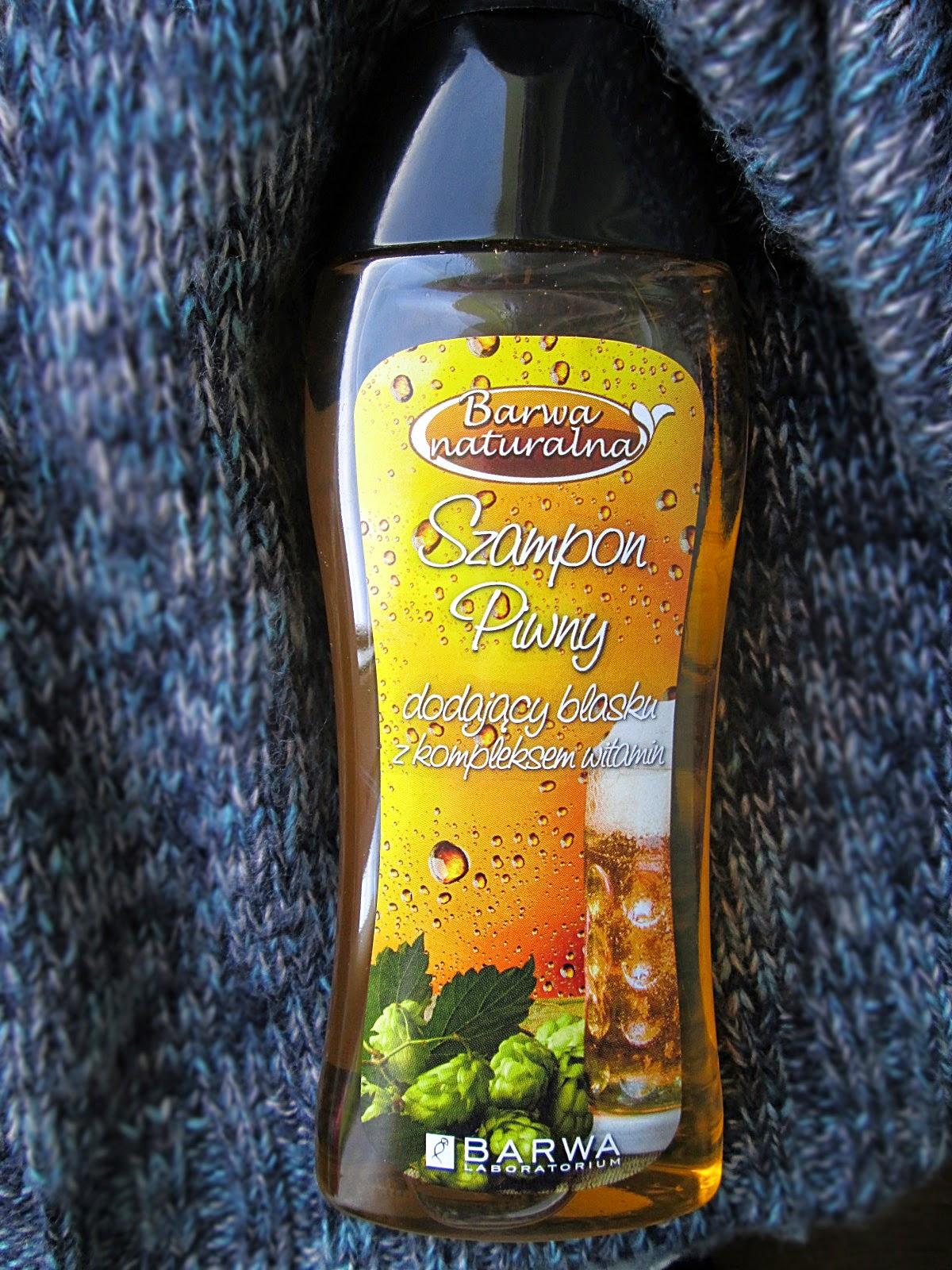 Barwa Naturalna - piwny, dodający blasku z kompleksem witamin