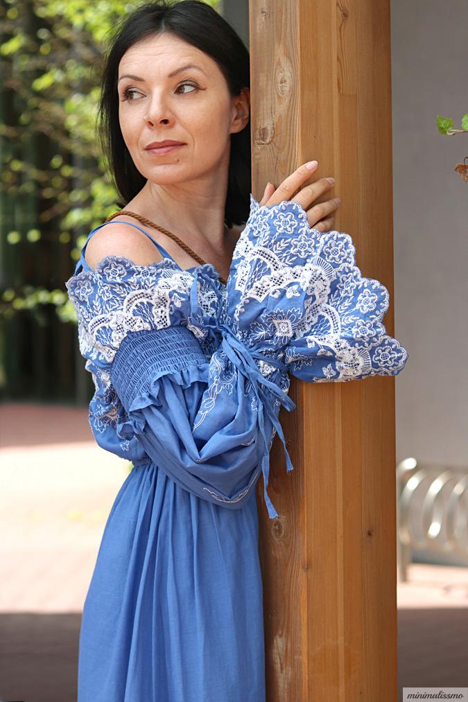 Sukienka w stylu country