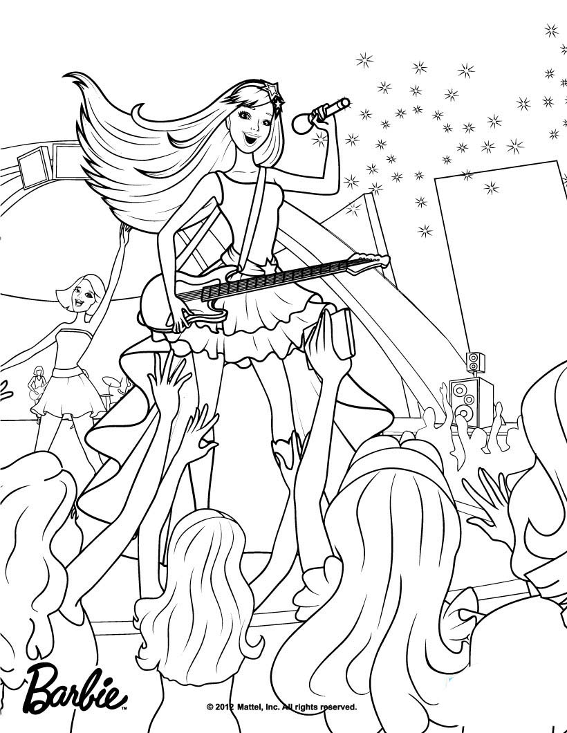 Ausmalbilder Barbie Rapunzel Kostenlos : Fantastisch Barbie Und Ken Malvorlagen Bilder Malvorlagen Von