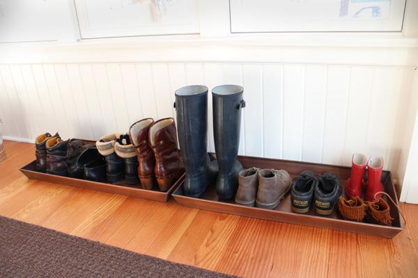 bandeja para secar botas