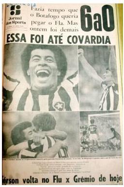 No aniversário do Flamengo o Botafogo deu 6 presentes à urubuzada