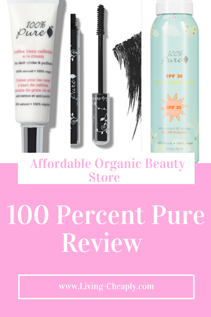 100 Percent Pure Review - Affordable Organic Beauty Store