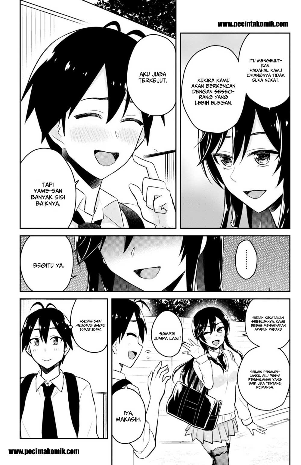 Manga Hajimete No Gal Chapter 32 Bahasa Indonesia
