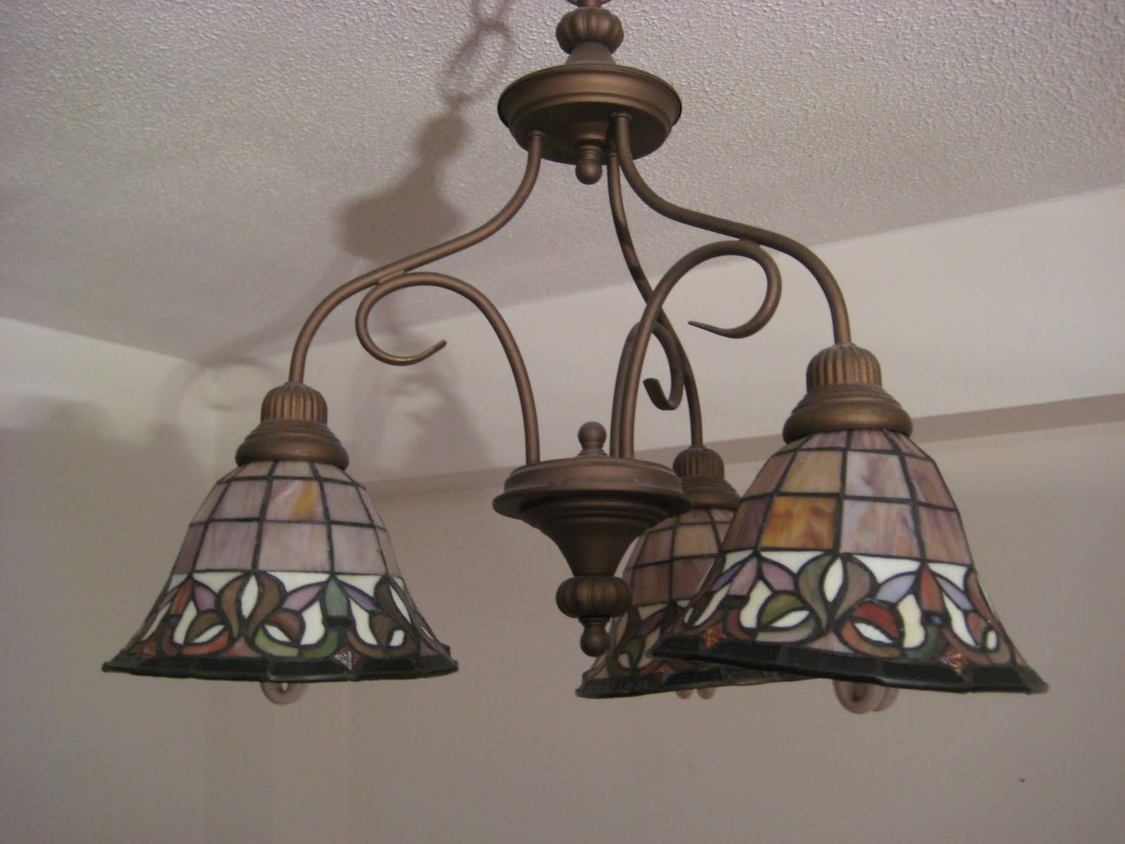 Ditmas Park Listings: stained glass pendant lamp ...