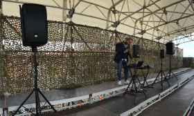 Amplificazione audio evento Roma