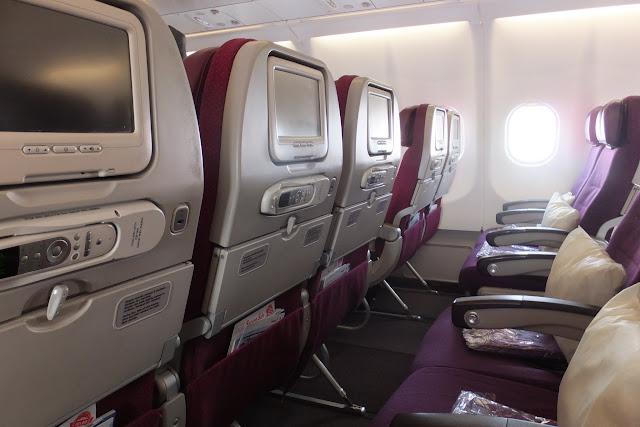 マレーシア航空エコノミー座席 malaysia-arlines-seat