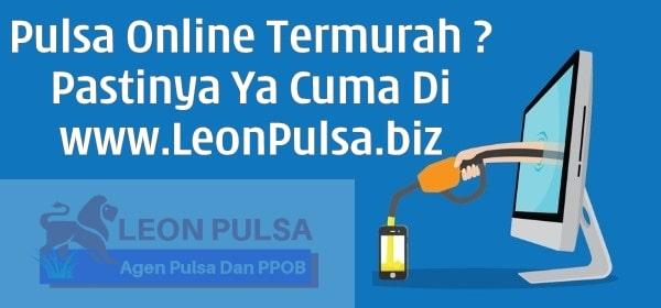 LeonPulsa.net CV Jasa Payment Solution Agen Bisnis Jual Beli Pulsa Online Termurah