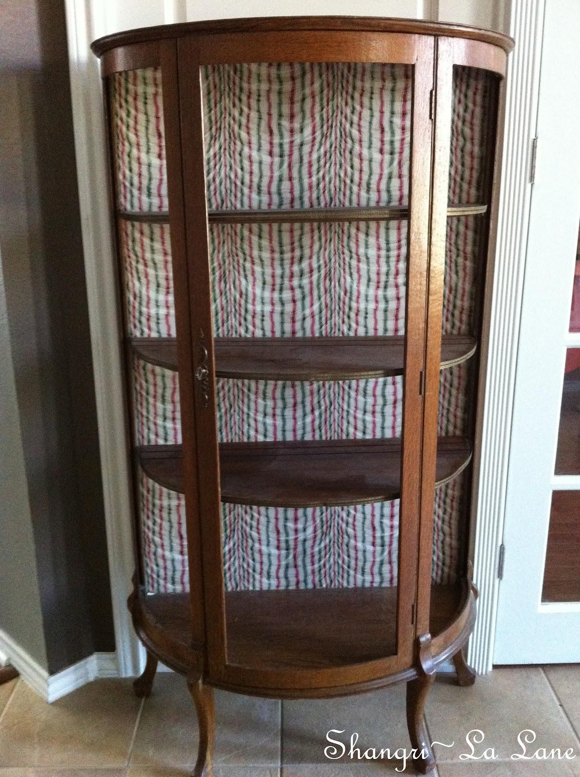 Antique Curio Cabinet - Shangri-La Lane