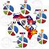 Έλληνες το1/3 του πληθυσμού σε Άλβανία,Έλληνες και το 15% σε Σκόπια και το 60% σε Βουλγαρία.