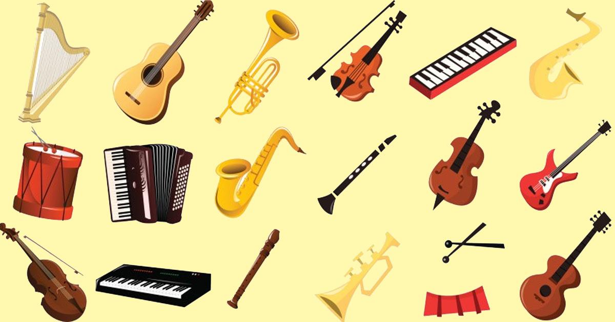 các loại nhạc cụ âm nhạc bằng tiếng anh