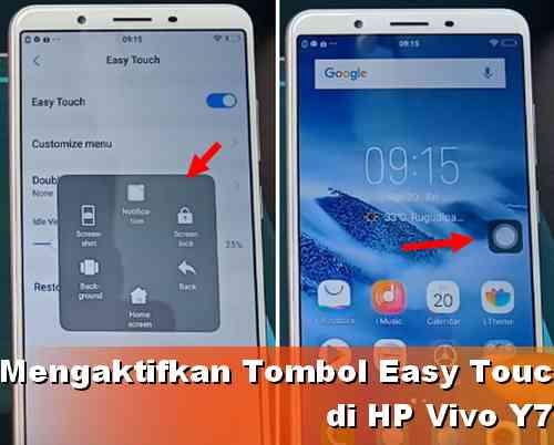 Cara Mengaktifkan Tombol Easy touch Vivo Y71 | Dunia Android