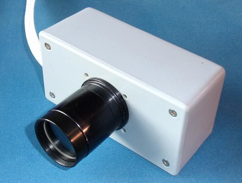 x-bit-astro-imaging: Box-mounted Raspberry Pi camera module