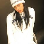 Andrea Rincon, Selena Spice Galeria 19: Buso Blanco y Jean Negro, Estilo Rapero Foto 81