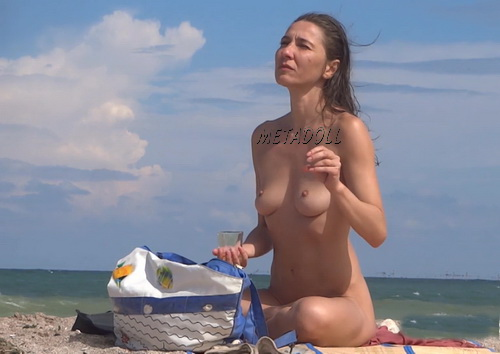 Naked women filmed by a nude beach voyeur (NudeBeach sb16011-16019)
