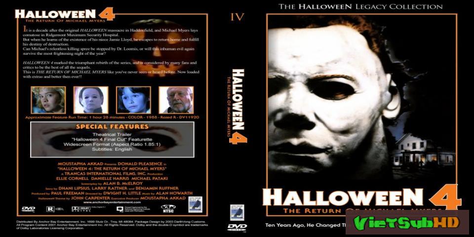 Phim Lễ Hội Kinh Hoàng 4: Sự Trở Lại Của Michael Myers VietSub HD | Halloween 4: The Return Of Michael Myers 1988 1988