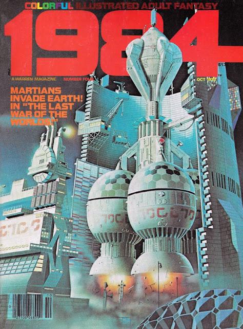 Portada de 1984 #4, edición americana