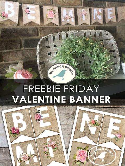 Free-Download-Be-Mine-Valentine-Banner
