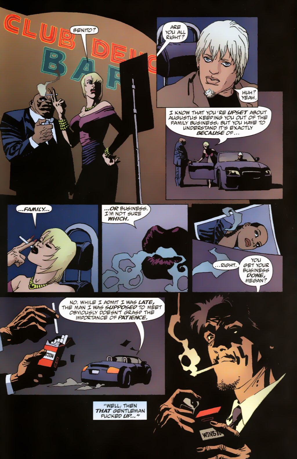Read online 100 Bullets comic -  Issue #63 - 23