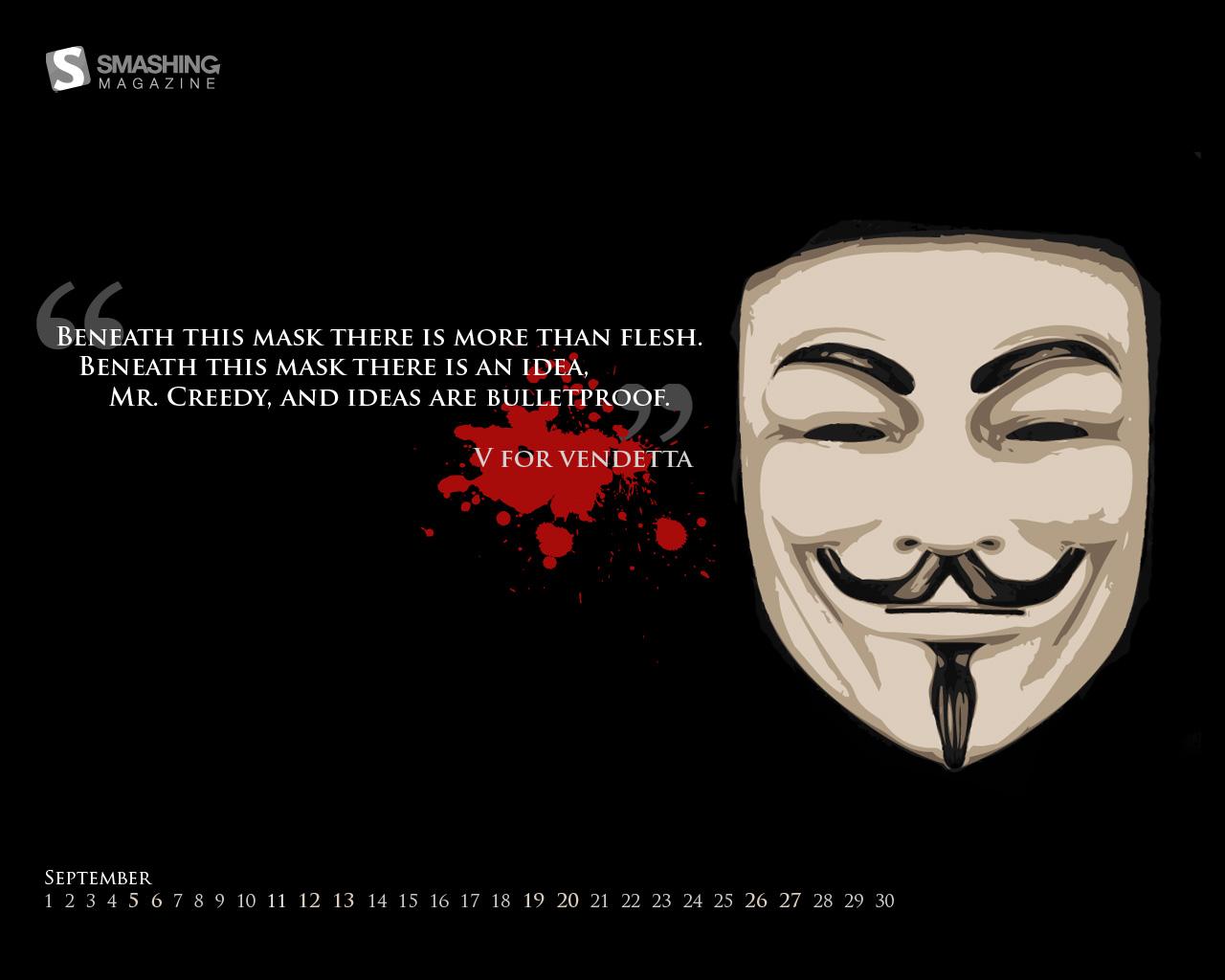 V For Vendetta Mask Wallpaper Quotes 12peteem: V for...