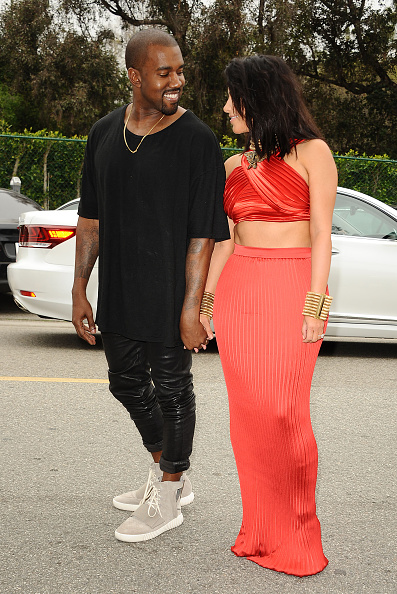 Kimye At Roc Nation Brunch