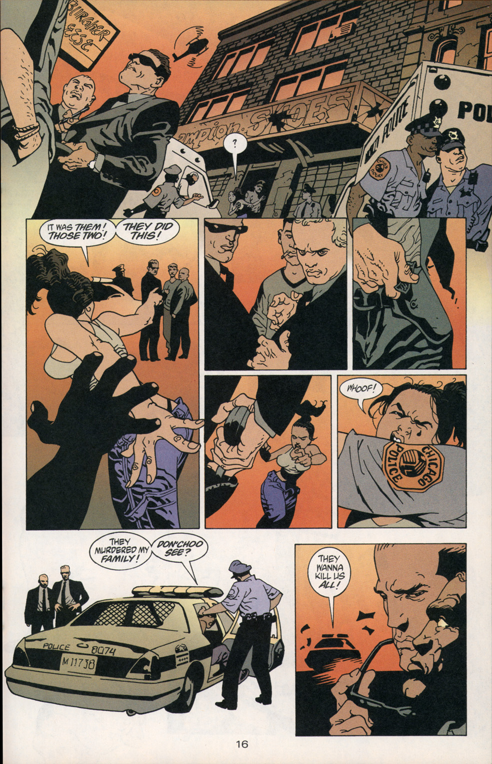 Read online 100 Bullets comic -  Issue #2 - 16