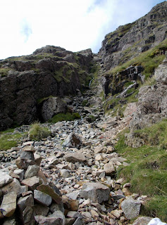 hiking scafell from wasdale head
