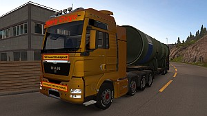 MAN TGX 8×4 10×4 mod version 5.0