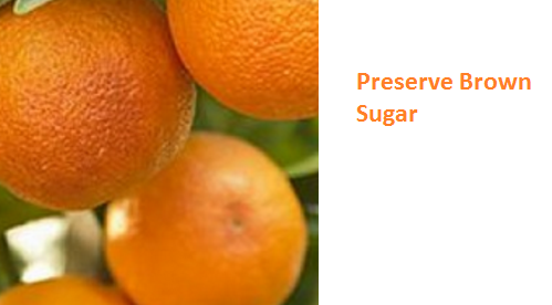 Preserve Brown Sugar - Oranges citrus fruit peel (Santre Ke Chilke)