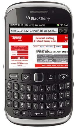 cara konek wifi di blackberry