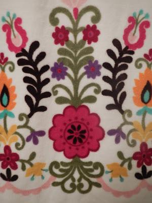 Apple Blossom Dreams Bathroom Redo With A Crocheted Clock