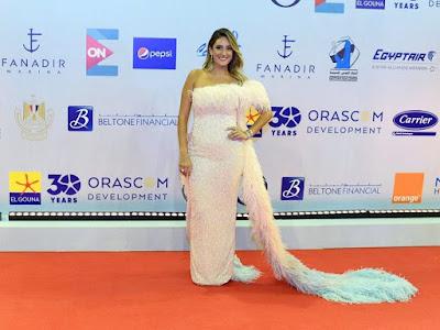 قستان رانيا يوسف, مهرجان الجونة السينمائى,