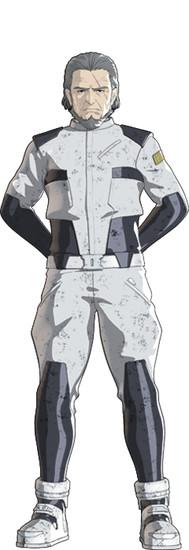 Kenyuu Horiuchi como Unberto Mori, capitán de la nave migratoria Aratrum.