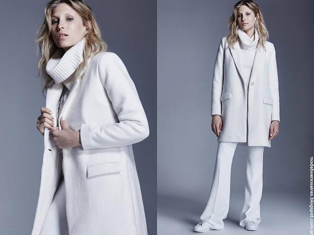 Tapados invierno 2016 ropa de mujer Delucca.