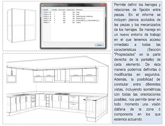 Dise os y optimisaci n de muebles en 3d programa para for Software para hacer muebles