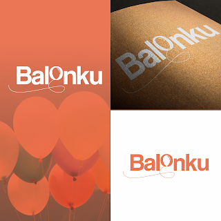 alternatif desain logo untuk balonku usaha dekorasi balon