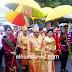 Gubernur Sumarsono Hadiri Gelar Adat Tulude di Bitung