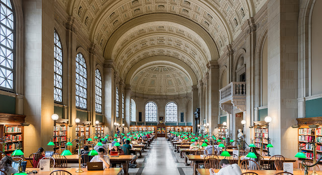 Boston Public Library, McKim Building