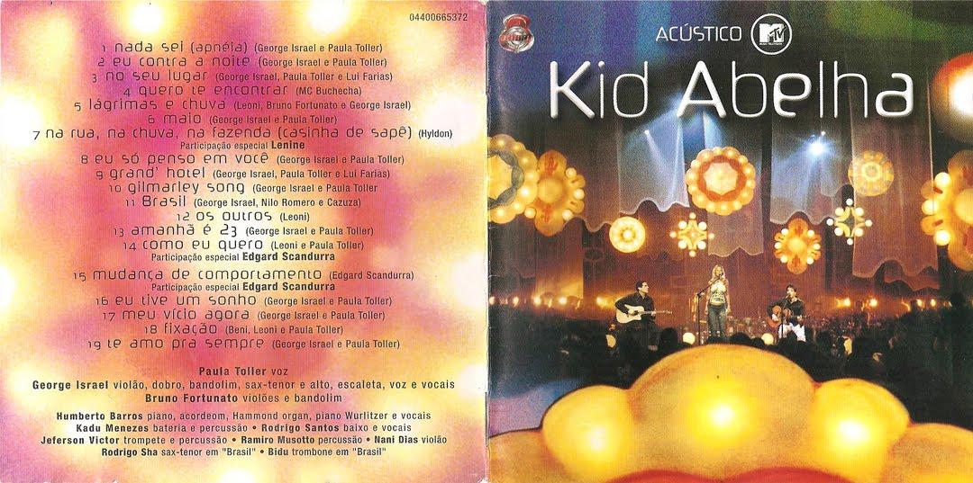 cd kid abelha acustico