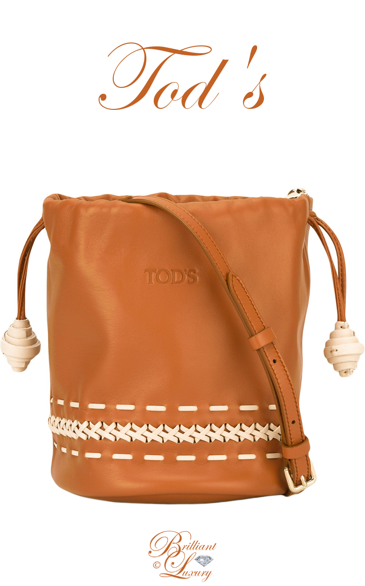 Brilliant Luxury ♦ Tod's Bucket Shoulder Bag