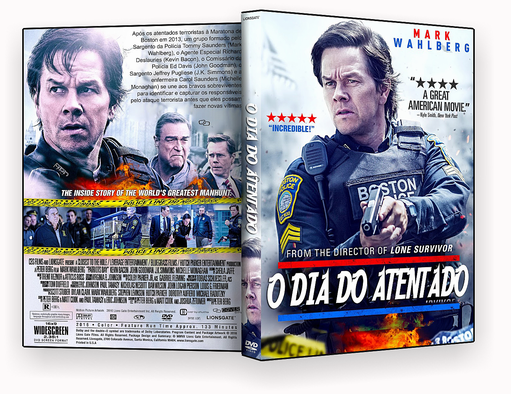 CAPA – O Dia Do Atentado 2017 DVD-R