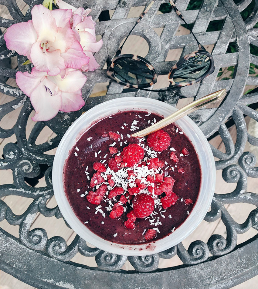 acai smoothie bowl recipe easy
