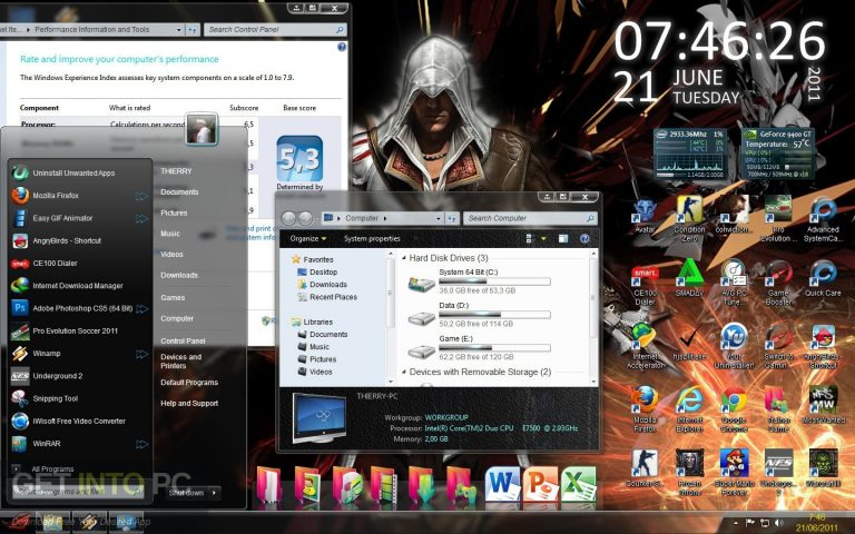 Windows 7 ROG RAMPAGE 64 bit ISO Download