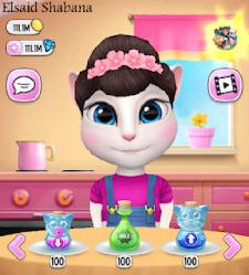تحميل لعبة صديقتي أنجيلا المتكلمة بأحدث إصدار مهكرة لجميع