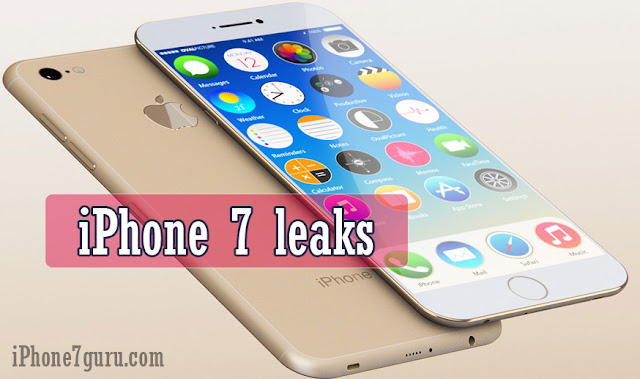iPhone 7 Leaks Images