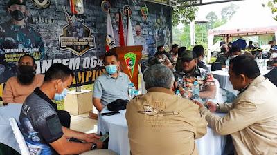 Dansat Brimob Banten Hadiri Pembukaan Kejuaraan Menembak Danrem 064/MY Shooting Championship 2021
